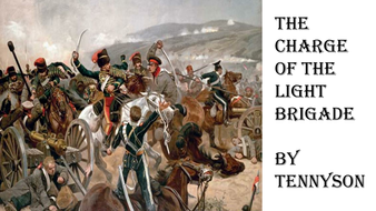 Charge of the Light Brigade Annotated