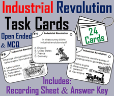 Industrial Revolution Task Cards