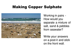 Making Copper Sulphate powerpoint