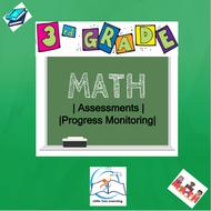 3rd Grade Daily Math Review | Assessments | Progress Monitoring