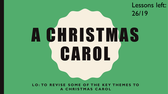 A Christmas Carol themes revision by mcrumb - Teaching Resources - Tes