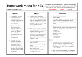 Homework help ks3 english