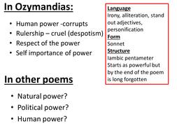 irony in ozymandias