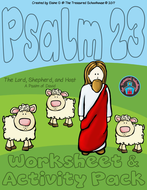 Psalm23-TheLordIsMyShepherdWorksheet-ActivityPack2017byTheTreasuredSchoolhouse.pdf