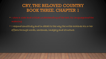 cry the beloved country chapter 16