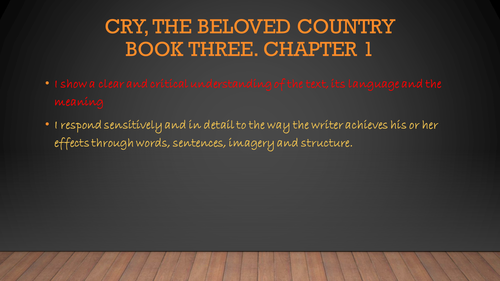 critical essay on cry the beloved country Cry the beloved country critical essays - free cry the beloved country papers, essays, and research papers the highly esteemed novel cry.