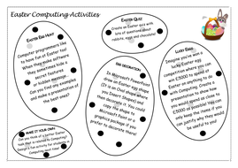 Easter ICT/Computing Activities