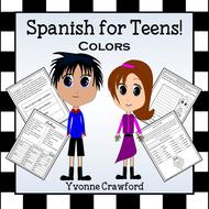Spanish Color Words - Los Colores en Español
