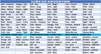 synonym lesson plans for 3rd grade