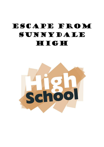 Escape from Sunnydale - creative writing