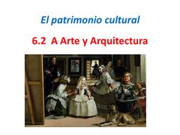 AQA A Level Spanish. Arte y Arquitectura. 6.1A