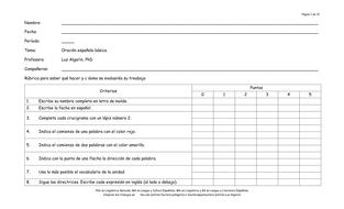 """El recurso docente """"Crucigrama: Gramática, vocabulario y sintaxis"""" (4 de 6 recursos)"""