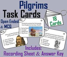 Pilgrims Task Cards