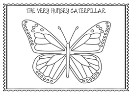The Very Hungry Caterpillar English Plan and Resources by