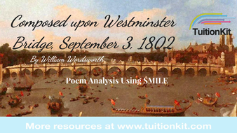wordsworth sonnet westminster bridge