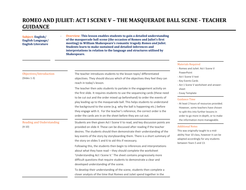 Romeo-and-Juliet---Act-I-Scene-V---The-Masqerade-Ball-Scene---Lesson-Plan.docx