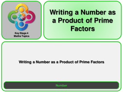 N--Writing-a-Number-as--Product-of-Prime-Factors.pptx