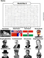 World War 2 Word Search