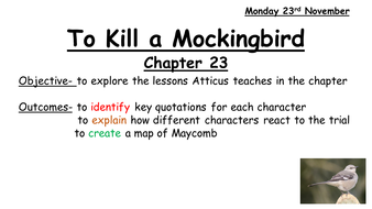 chapter 23 of to kill a mockingbird