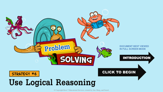 Math Problem Solving Strategies - Use Logical Reasoning