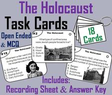 Holocaust Task Cards