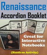 Renaissance Accordion Booklet