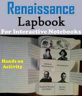 Renaissance Men Lapbook