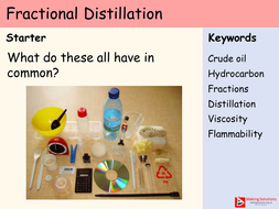 Chapter 7 (Hydrocarbons) - Lesson 2 - Fractional Distillation and Properties of Hydrocarbons.pptx