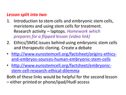 New AQA GCSE Biology Stem Cells and Therapeutic Cloning