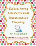 HiddenArray_DistributiveProperty_Homework-Pack_AbbySandlin.pdf
