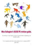Revision Booklet IGCSE PE CIE