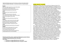 romeo and juliet grade  and grade  model responses to aqa gcse questions