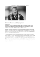 psychoanalysis-On-Horror--Hitchcock--and-Doppelg-ngers-psychoanalysis.docx
