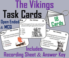 The Vikings Task Cards