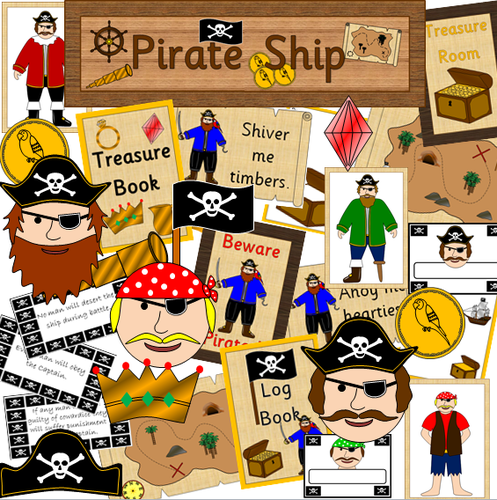 Pirate Ship role play pack
