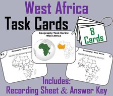 West Africa Task Cards
