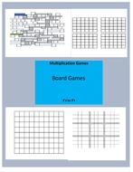 Multiplication Single Digit Board Games