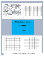 Multiplication Single Digit Mazes