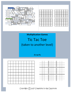 Multiplication Single Digit Tic Tac Toe Games  (taken to another level)