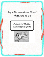 Ivy Bean and the Ghost that Had to Go Book Unit