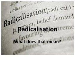 Radicalisation Powerpoint