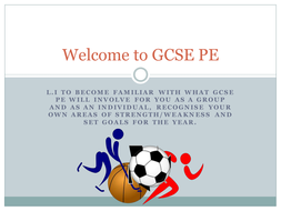Introduction to GCSE PE EDEXCEL