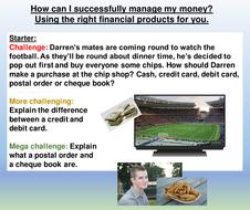 money-management-4 pshe resources.ppt