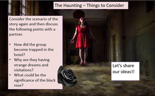 The Haunting Horror Story Creative Writing