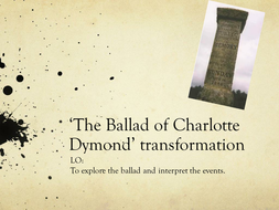 the ballad of charlotte dymond