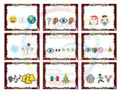 100 Pics Christmas Emoji.Music Sub Tub Stuffers Guess The Christmas Song Emoji Game