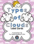 TypesOfCloudsLabelCards2014byTheTreasuredSchoolhouse.pdf