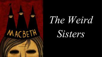 weird sisters macbeth