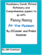 FancyNancyAttheMuseumVocabComprehensionDictionarySynonyms.pdf