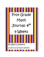 FirstGradeMathJournal4th9weeksupdated.pdf